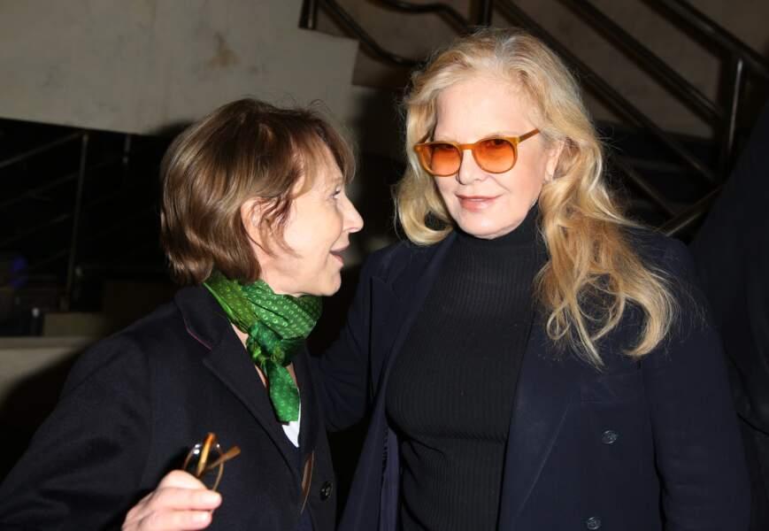 Nathalie Baye et Sylvie Vartan, l'union sacrée