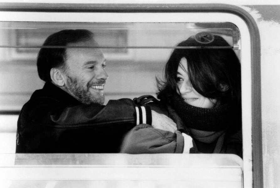Un homme et une femme: JL Trintignant et Anouk Aimée