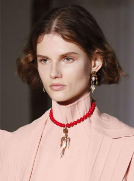 Le carré court au défilé Valentino Fall/Winter 2017-2018