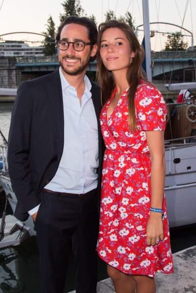 Thomas Hollande et Emilie Broussouloux au trophée de la pétanque