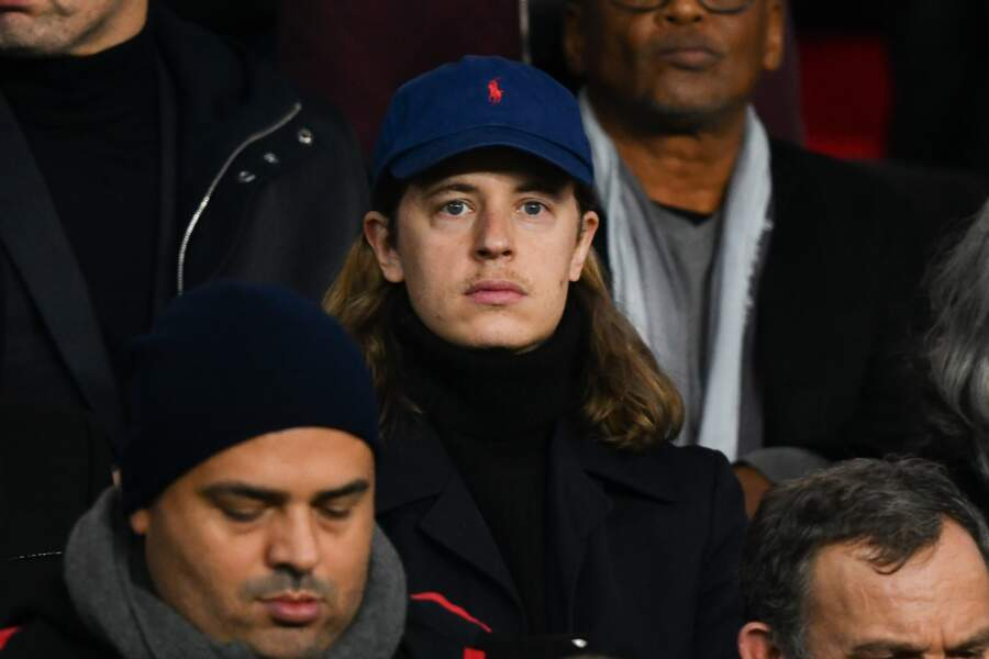 Pierre Sarkozy était également au match du PSG au Parc des Princes