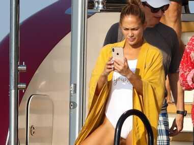 Jennifer Lopez en vacances à Saint-Tropez