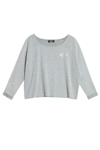Collection Sport Oôra, Top cropped chiné, 19,99€
