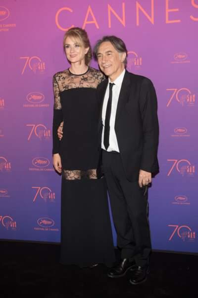 Richard Berry et Pascale Louange, complices à Cannes