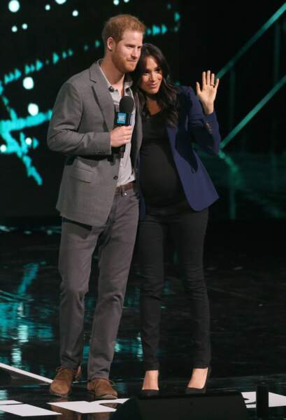 Meghan Markle et le prince Harry au WE Day UK, à Londres, le 6 mars 2019