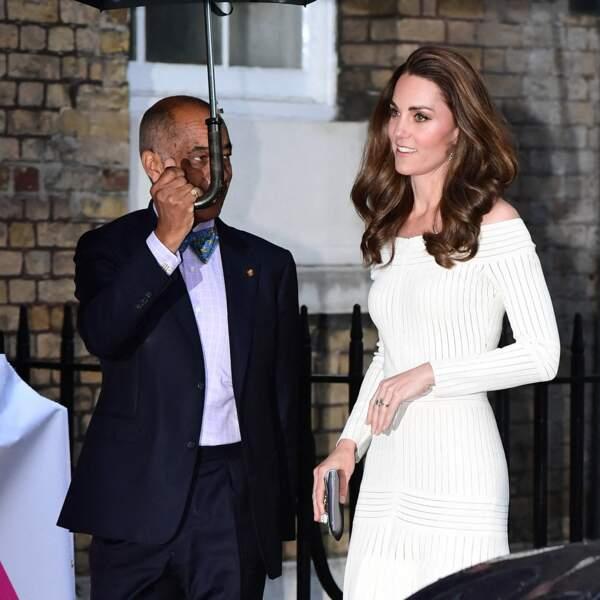 La duchesse de Cambridge lors d'un gala à Londres, le 12 juin 2019