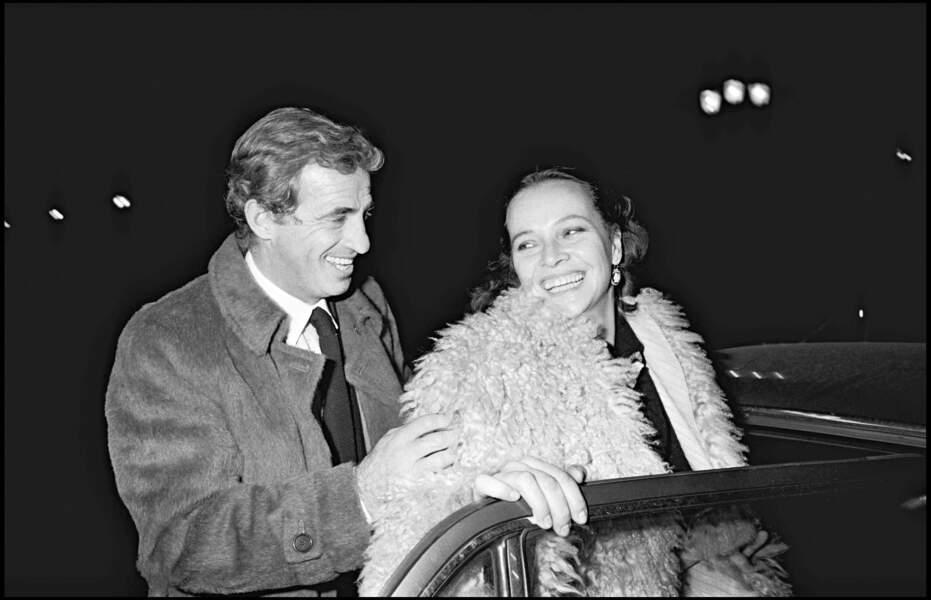 Jean-Paul Belmondo et Laura Antonelli