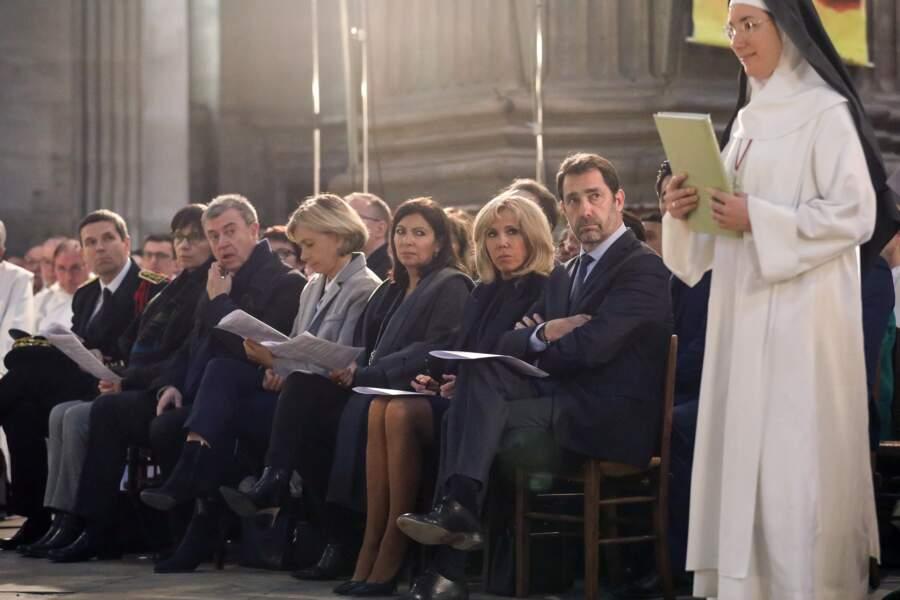 Valérie Pécresse, présidente du conseil régional d'Ile-de-France, faisait également partie des fidèles