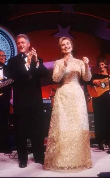 1997: Hillary Clinton en Oscar de la Renta