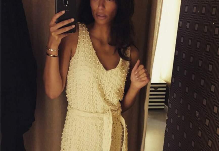 La nouvelle Miss Météo de TF1 Tatiana Silva (crédit photo Instagram : @tatianasilva05 )