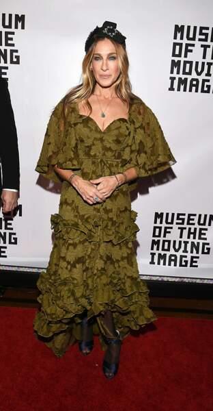 D'habitude impeccable, Sarah Jessica Parker déçoit sur ce look trop brouillon