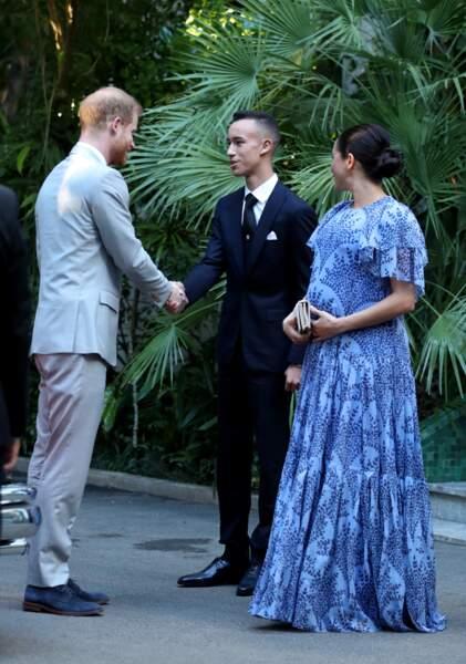 Le prince Harry et Meghan Markle rencontrent le fils de Mohammed VI, le prince héritier du Maroc, Moulay El Hassan