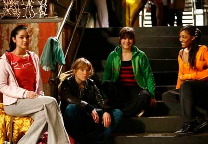 """En 2006, Léa Seydoux obtient son premier rôle principal dans le film """"Mes copines"""""""