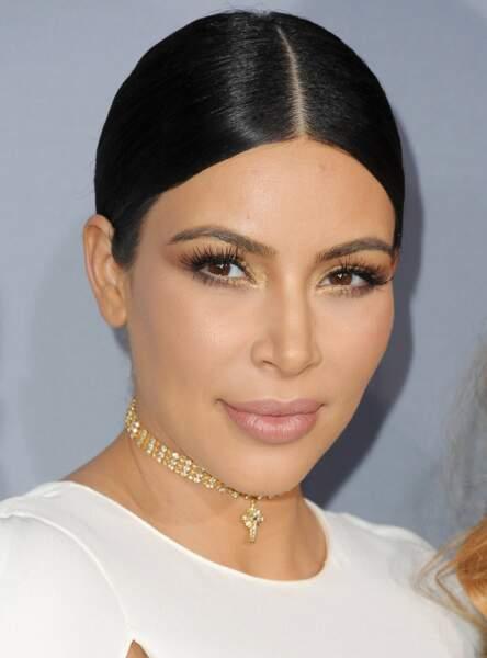 Une touche de dorée comme Kim Kardashian