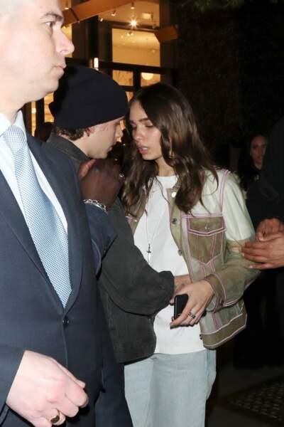 Brooklyn Beckham et Hana Cross semblent toujours filer le parfait amour.