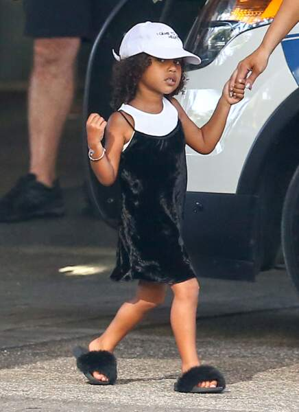 North West (la fille de Kim Kardashian et Kanye West) à Bal Harbour, le 18 septembre 2016.