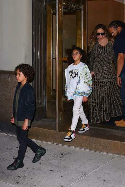 Moroccan et Monroe, les jumeaux de Mariah Carey, entrent en CE2 à 8 ans