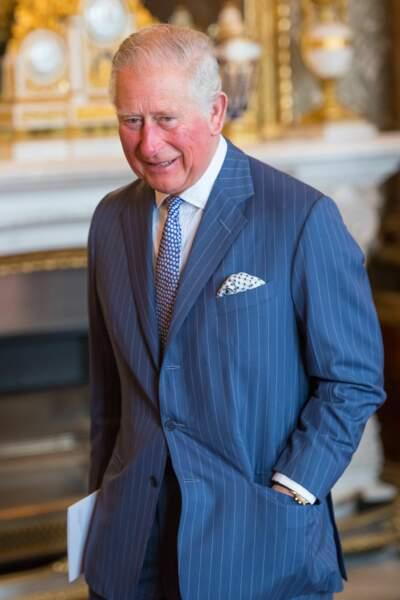 Le prince Charles pour ses 50 ans d'investiture en tant que prince de Galles, ce mardi 5 mars
