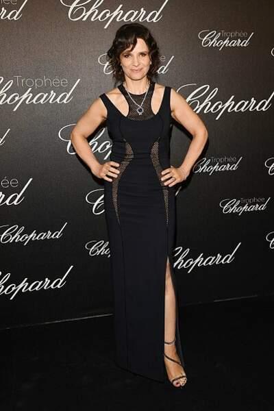 Juliette Binoche en Versace