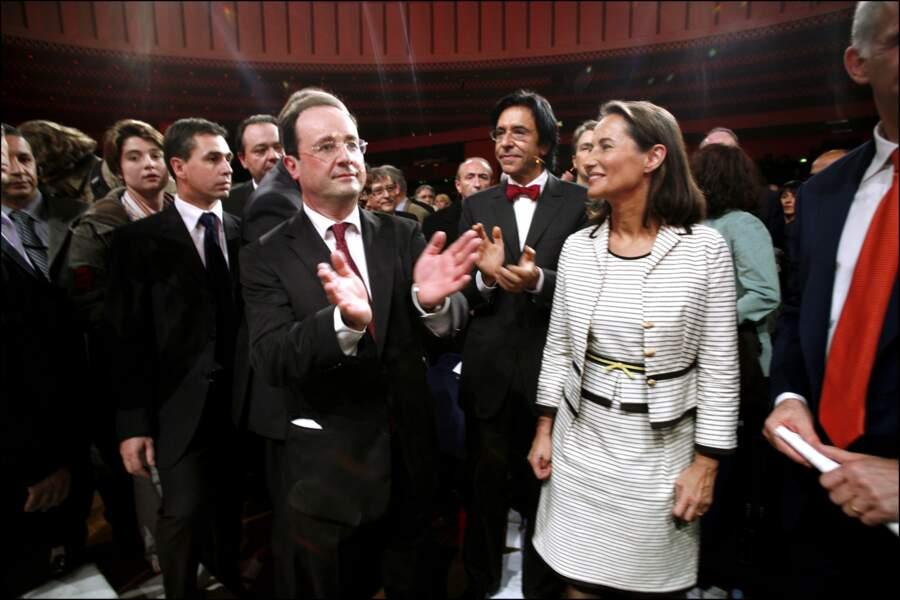 Investiture de Ségolène Royal en tant que candidate du PS à l'élection présidentielle, le 26 Novembre 2006