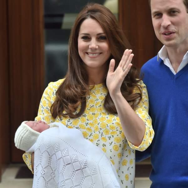 Naissance de la princesse Charlotte le 2 mai 2015