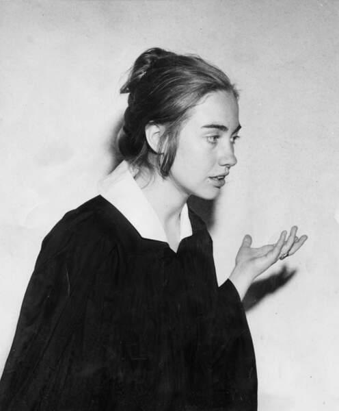 Hillary Rodham, à 22 ans (1969)