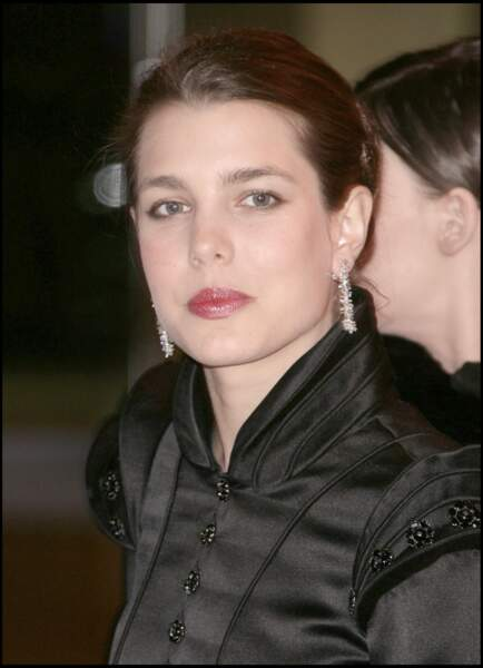 Au bal de la rose, à Monaco, le 29 mars 2008.