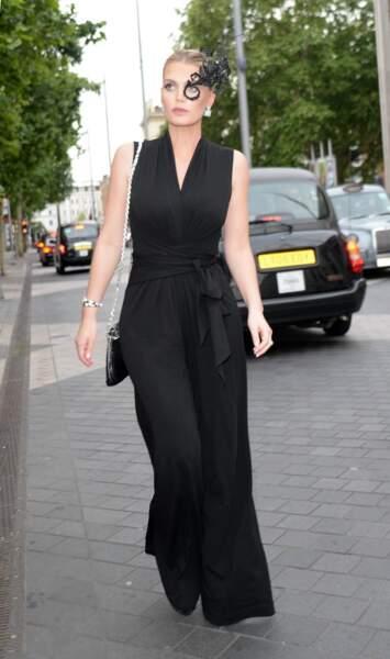 Lady Kitty Spencer a été aperçue à Londres ce mercredi 5 juin, alors qu'elle se rendait à une soirée
