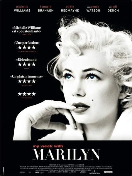 My week with Marilyn de Simon Curtis en 2012