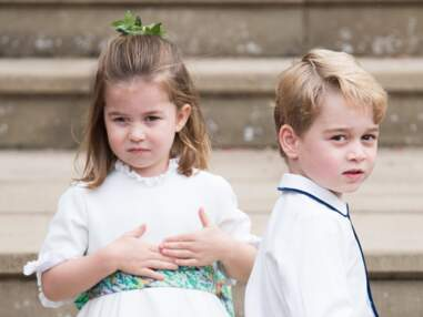 Photos - Les adorables faceties du Prince George au mariage d'Eugenie d'York