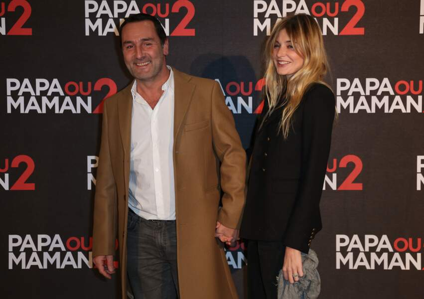 Gilles Lellouche et sa compagne Alizée Guinochet