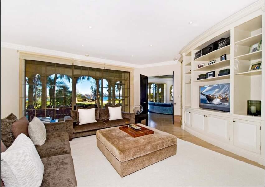 L'un des salons de la maison de Meghan Markle et du prince Harry en Australie