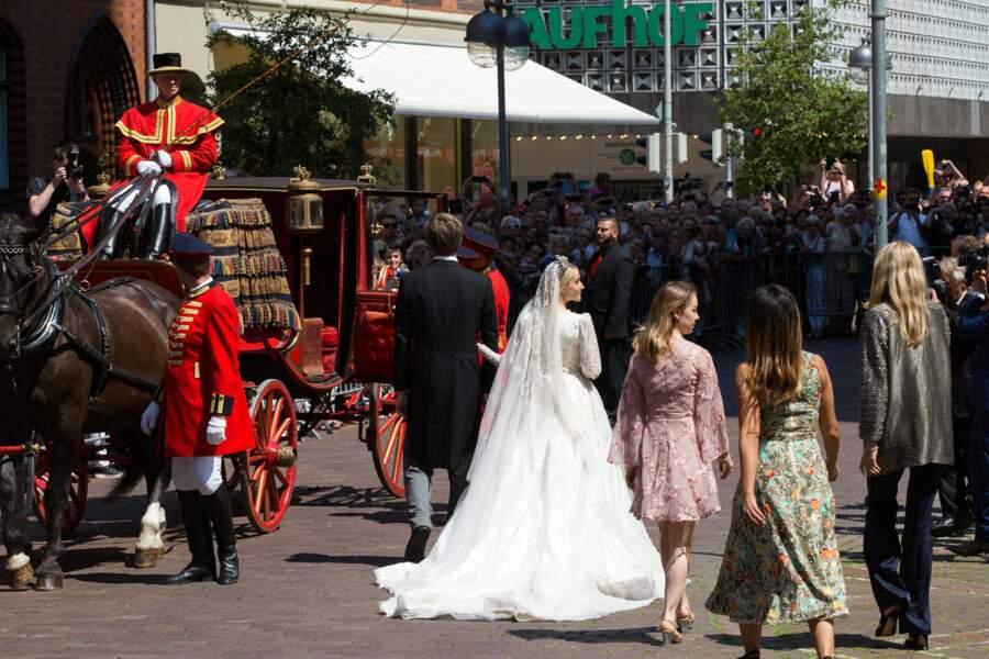 Mariage du prince Ernst August Jr et de Ekaterina Malysheva en l'église Marktkirche de Hanovre le 8 juillet 2017