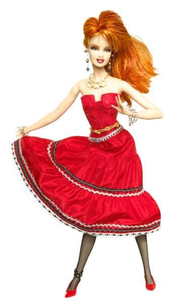 Cyndi Lauper en poupée Barbie