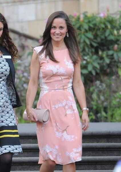 """Pippa Middleton se rend à la soiree """"Summer Waitrose"""" a Londres, le 22 mai 2013"""