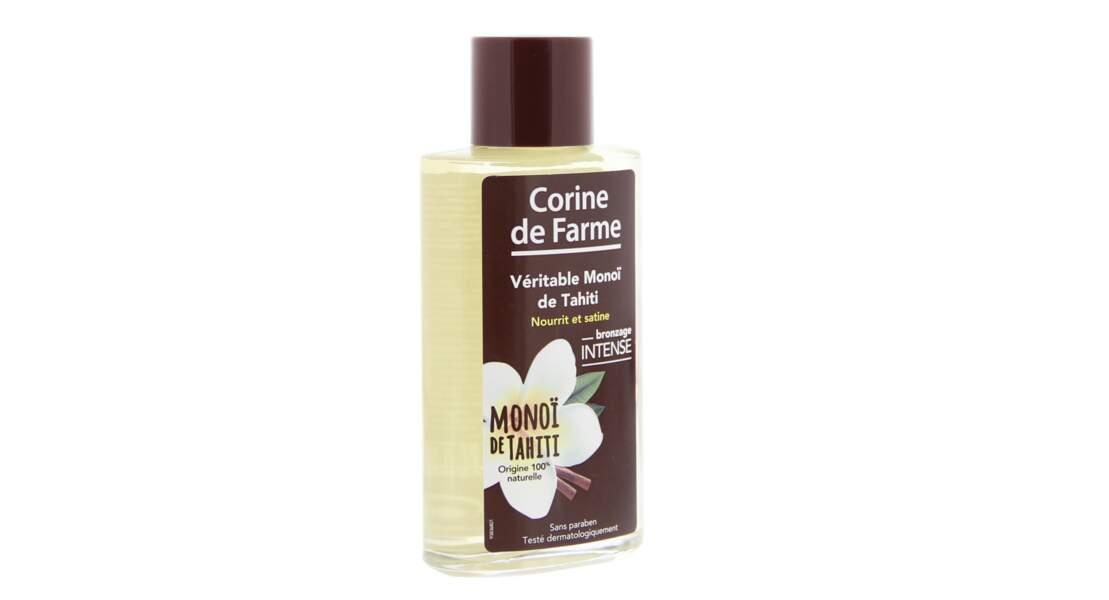 Véritable Monoï de Tahiti mis en bouteille, il s'utilise aussi en masque capillaire, 5,50 €