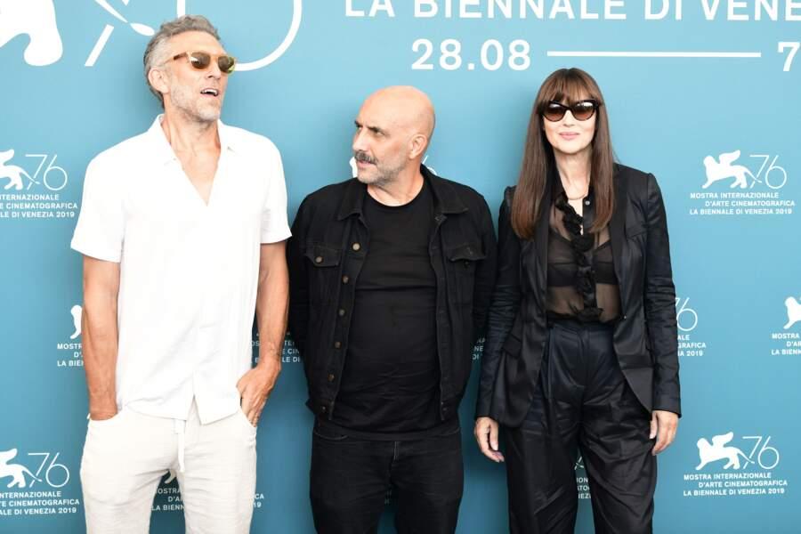 Vincent Cassel semblait très détendu aux côtés de son ex Monica Bellucci
