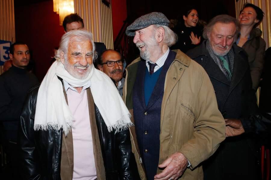 Jean-Paul Belmondo et Jean-Pierre Marielle