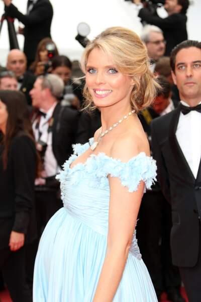 Sylvie Tellier est enceinte de son troisième enfant