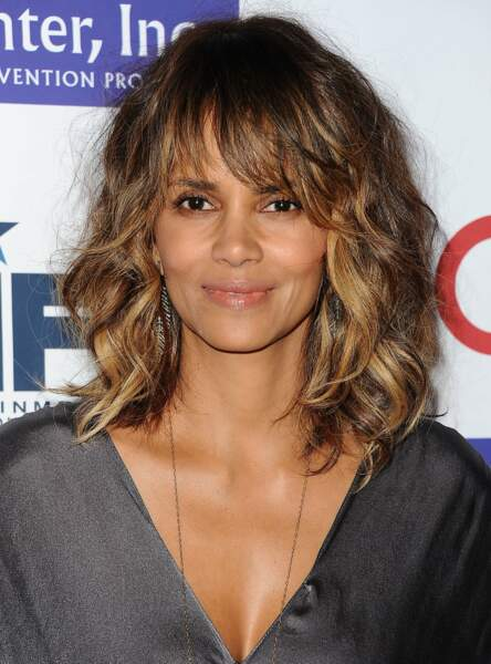 Le carré long de Halle Berry
