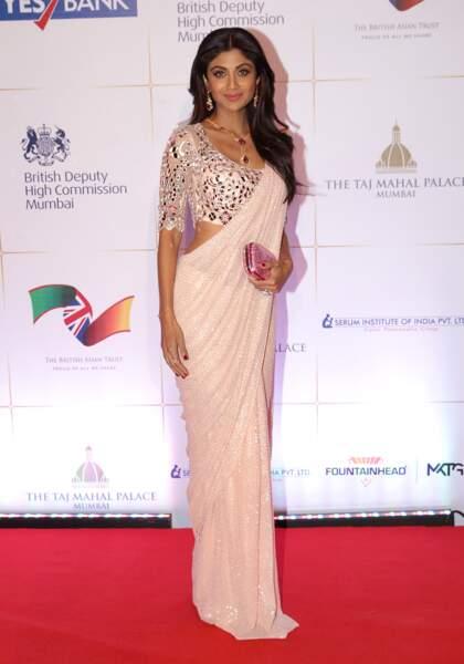 La starlette Shilpa Shetty