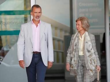 Juan Carlos reçoit la visite de Felipe, Letizia d'Espagne et leurs filles après son opération