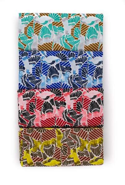 Daniel Hechter s'associe à Somex pour une gamme de tissus wax inédite.