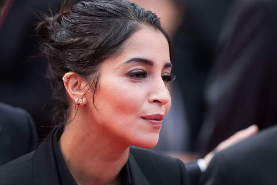 Le chignon brouillon de Leila Bekhti