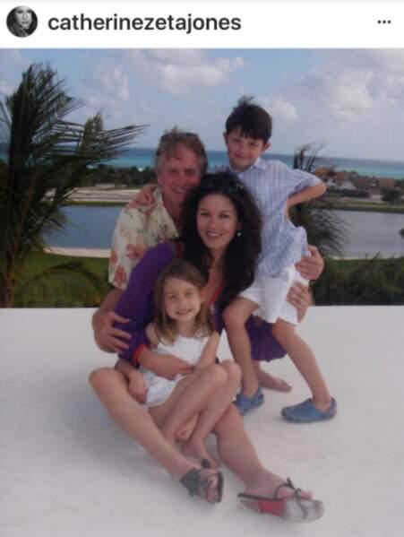 Michael Douglas en famille