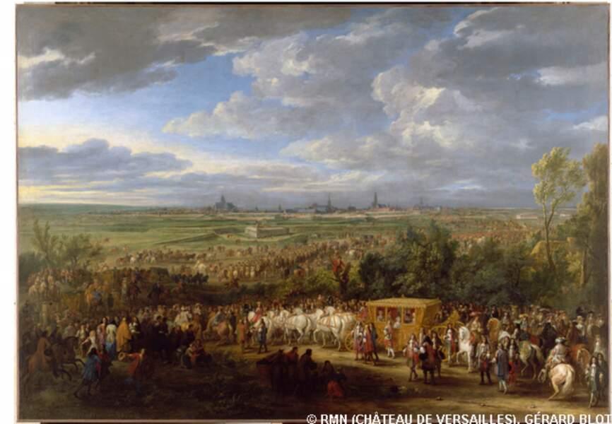 Entrée solennelle de Louis XIV et de la reine Marie-Thérèse à Arras, 30 juillet 1667