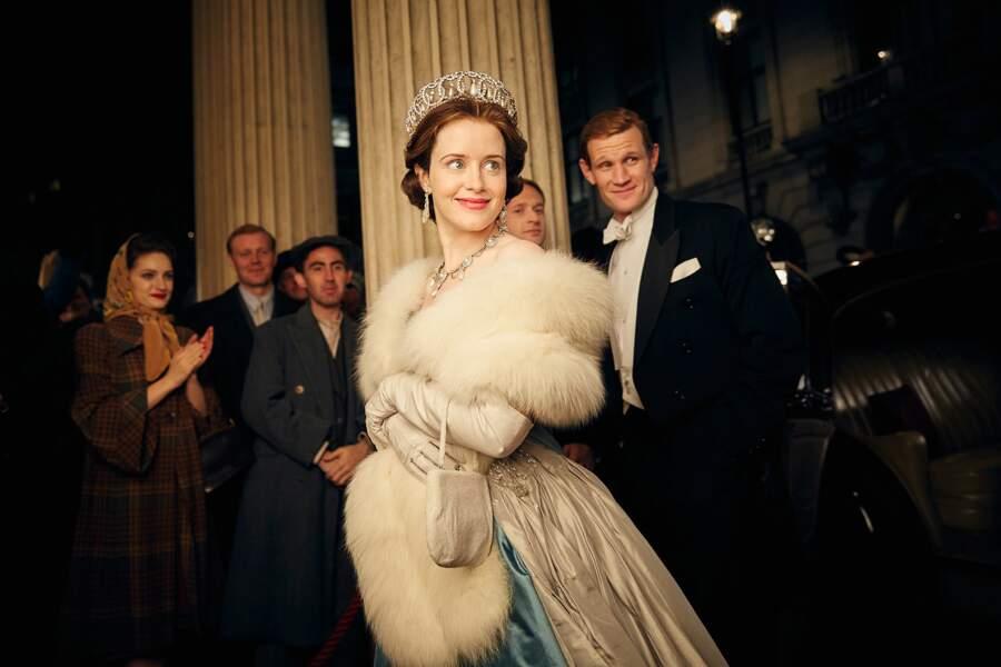 """Claire Foy, star de la série """"The Crown"""", qui relate la vie de la reine Élisabeth II"""