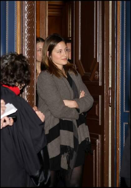 Victoire de Villepin à la sortie de la 11e chambre du tribunal correctionnel de Paris