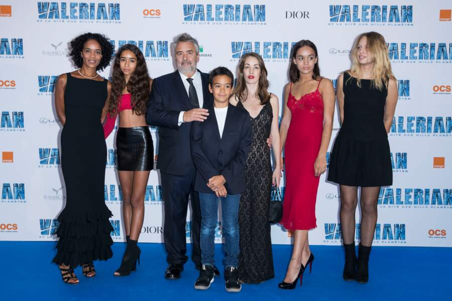 Juliette et Shanna sont les filles qu'il a eues respectivement avec Anne Parillaud et Maïwenn