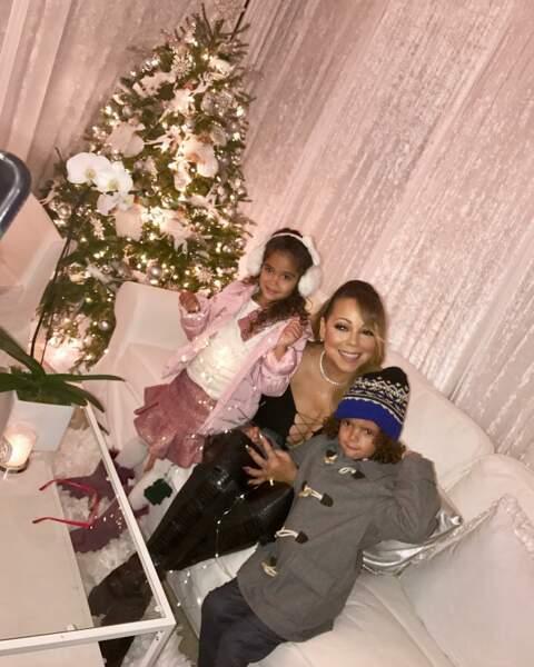 Mariah Carey et ses enfants